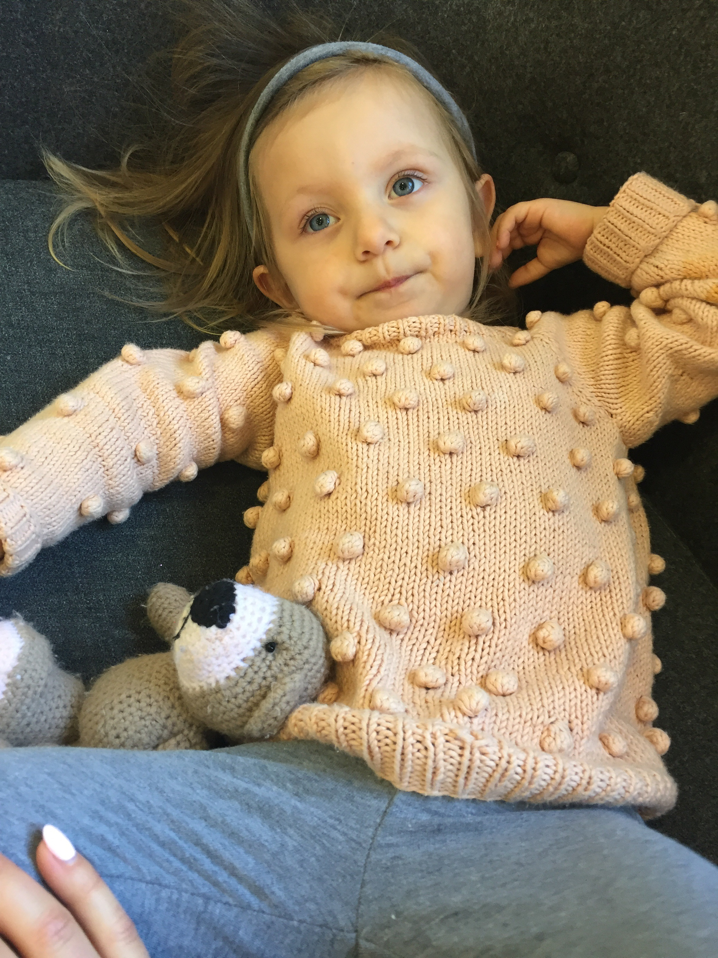 Popcorn Sweater by Paelas – Kat and Leni